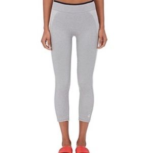 Tory Sport seamless grey cropped leggings
